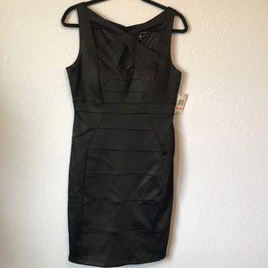 NWT Jax Black Label black bandage dress
